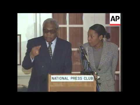 USA: CONGOLESE PRESIDENT LISSOUBA BLAMES COUP ON LIBYA & ANGOLA
