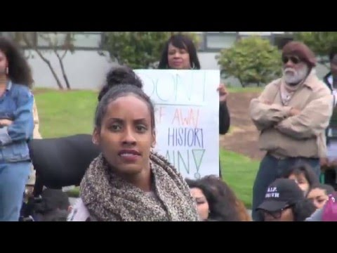 Solidarity Rally For SFSU Ethnic Studies Hunger Strikers On May 9, 2016