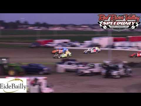 Red River Valley Speedway IMCA Sport Mod A-Main (6/8/18)