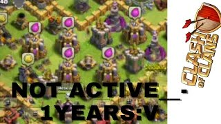 clash of clan not active in 1years v kwkwk qois rofina