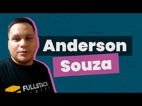 #NossosAlunos Fullstack Master - Anderson Felipe Barros