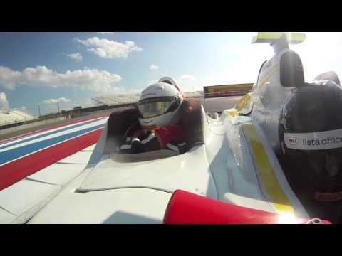 Circuit Of The Americas, Onboard Lap In An F1 3-Seater During The First Lap Ceremony