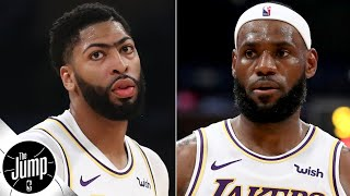 The LeBron-AD pick-and-roll is going to be too dominant - Amin Elhassan | The Jump