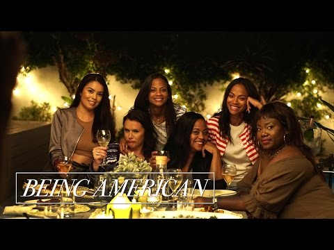 Being American | Rosé Roundtable with Zoe Saldana ft. Roxy Limon and Shanna Malcolm