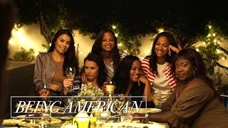 Being American   Rosé Roundtable with Zoe Saldana ft. Roxy Limon and Shanna Malcolm