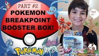 Part #2: Pokemon XY BREAKpoint Booster Box Opening! NICE PULLS! Jenna Em Channel