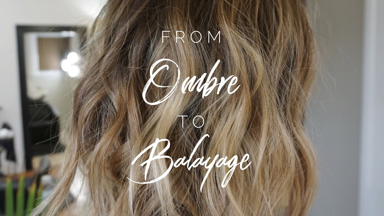 From Ombre To Balayage Hair Tutorial