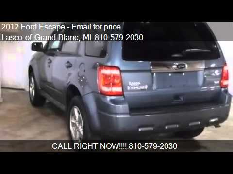 2012 ford escape limited for sale in grand blanc mi 48439 a youtube. Black Bedroom Furniture Sets. Home Design Ideas