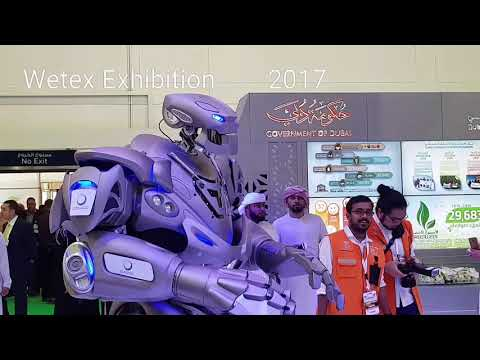 ~Freaking Real~ Robot ~greets People ~in Dubai~ MUST WATCH 2019  YRAL VDyO~