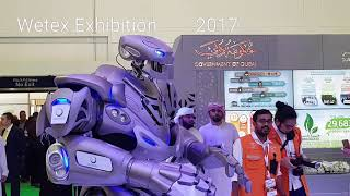 Giant Freaking Robot (Titan) in Dubai.