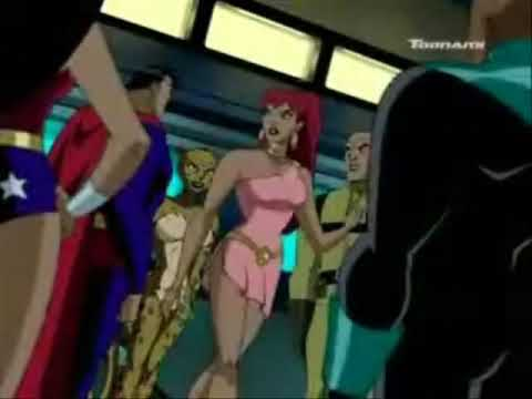 Giganta on Justice League Unlimited