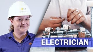 Job Talks - Electrician - Virgina Gives Great Advice on Becoming an Electrician in her Job Talk