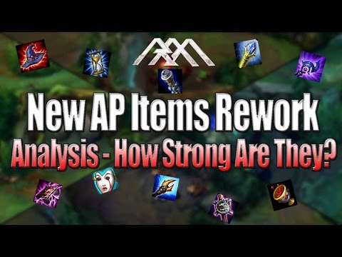 New AP Items Rework - How Strong Are They? - League of Legends