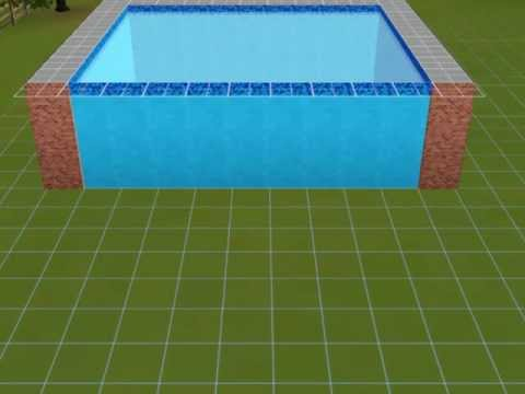 the sims 3 tutorial trucchi piscina youtube