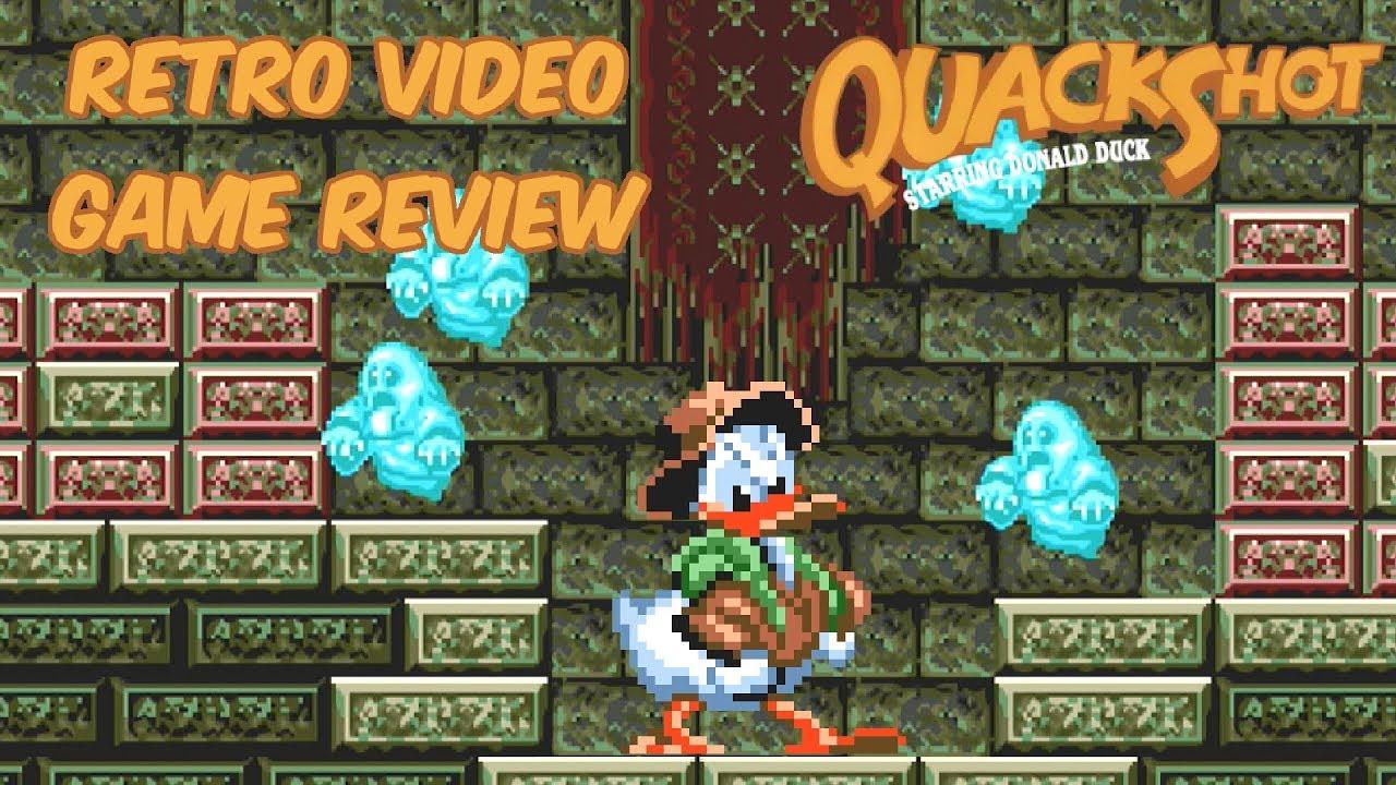 Quackshot Starring Donald Duck Genesis Youtube