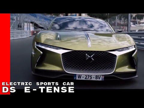 DS E-TENSE Electric Sports Car