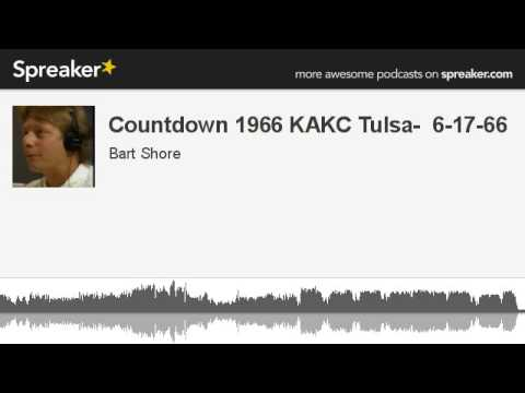 Countdown 1966 KAKC Tulsa- 6-17-66