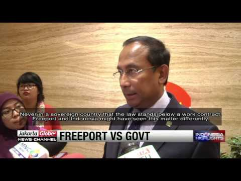 Government Confident Of Winning Court Battle Versus Freeport