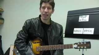 "Easy Guitar PLAY-ALONG Lesson : ""Hang On Sloopy"" by The McCoys"