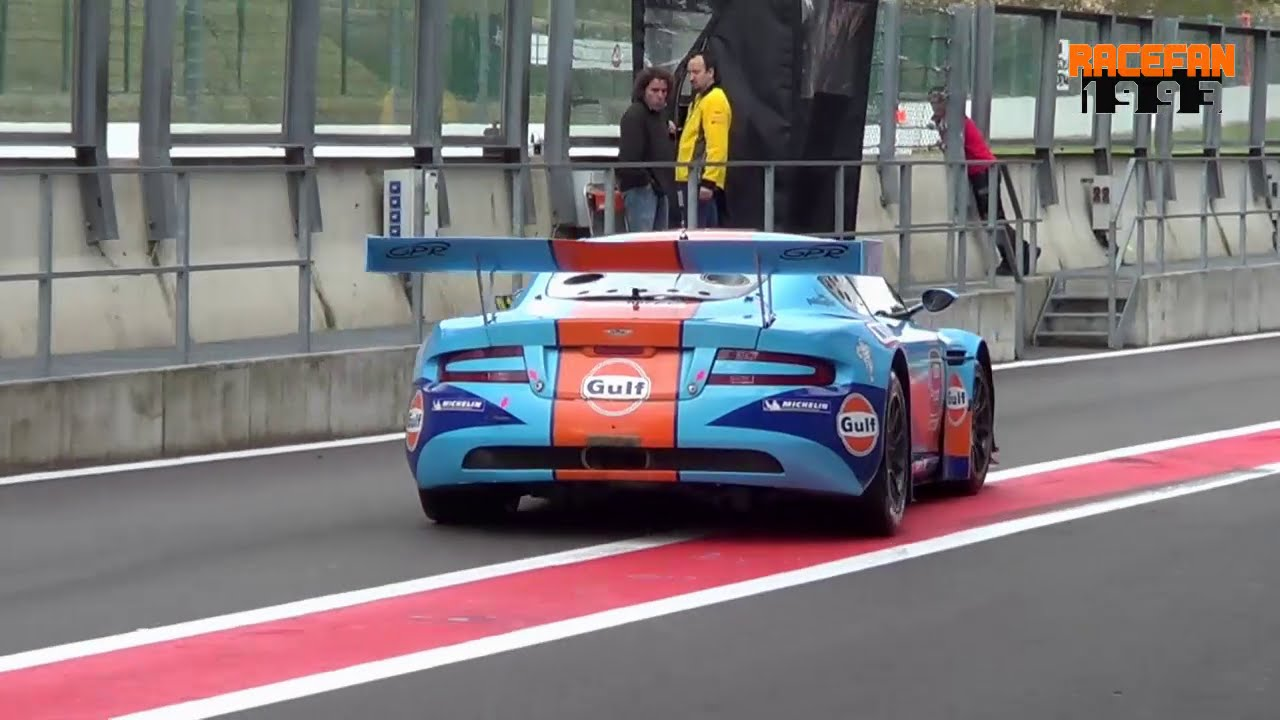 Aston Martin Dbrs9 Gt3 Pure Sound Team Gpr Lmp Valmon Racing Spa Zolder Youtube