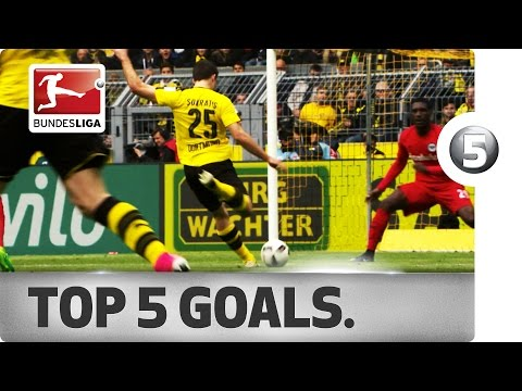 Fabian, Reus, Keita and More - Top 5 Goals on Matchday 29