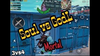SOUL vs GODLIKE CLAN, KRONTEN GAMING VS MORTAL | PUBG MOBILE BATTLE | BEST FIGHT OF PUBG MOBILE