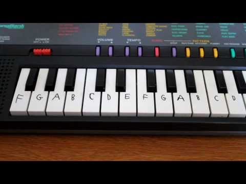 How to label your piano or keyboard