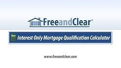 Interest Only Mortgage Qualification Calculator Video