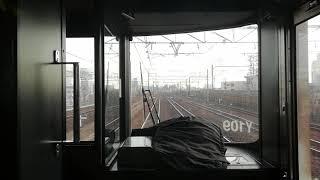 313系Y109編成快速豊橋行名古屋⇛金山前面展望