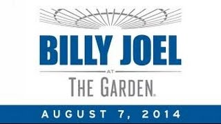 Billy Joel: The Garden - The Concert Film (August 7th, 2014)