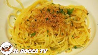 228 - Spaghetti alla bottarga...e ti meriti una targa (primo piatto facile dal sapore molto intenso)