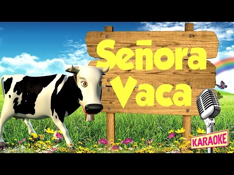 KARAOKE Señora Vaca, con Letra - Canciones de la Granja de Zenón