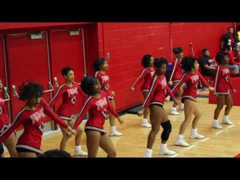 Coach T goes to see WSSU Cheerleaders