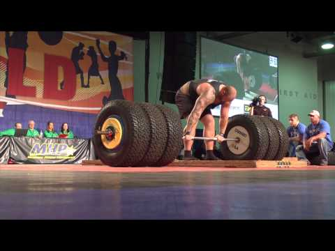 Game of Thrones The mountain Deadlifts 994 pounds Hafthor Bjornsson from YouTube · Duration:  42 seconds