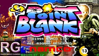 Point Blank - Arcade - Attract and Expert mode playthrough [4K 60fps]