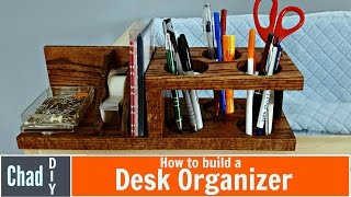 Custom DIY Desk Organizer