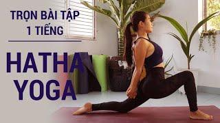 ⭐ Trọn bài tập Hatha Yoga | bài tập 60 phút yoga cho hơi thở và sự thư giãn toàn thân