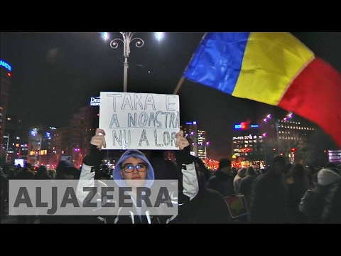 Biggest protests in decades hit Romania over corruption