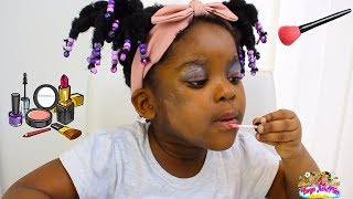 Kids  Pretend Play Dress Up & Kids Make Up Toys Compilation