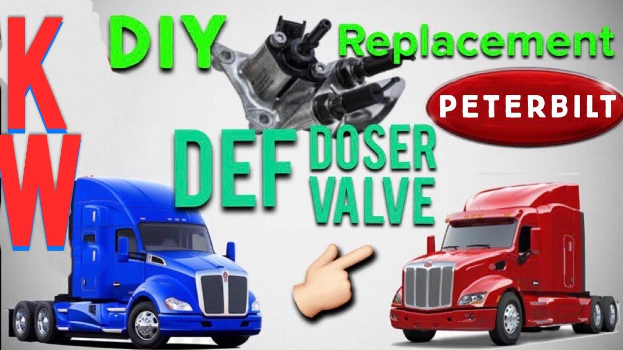Def Dosing Valve Replacement Kenworth Peterbilt Youtube