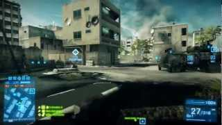 Battlefield 3 - Live Commentary - Conquest - Strike at Karkand (BF3 Online Multiplayer Gameplay)