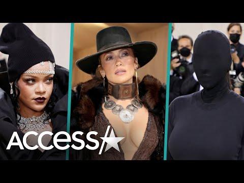 Kim Kardashian, Rihanna, Billie Eilish & JLo's 2021 Met Gala Style