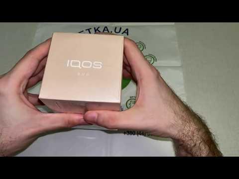 Набор для нагревания табака IQOS 3 Duo Золотой (7622100817307)