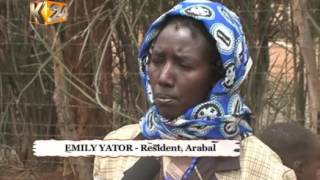 Residents of Baringo County living in constant fear of attacks