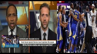 WHAT FACTOR WILL COST THE WARRIORS TO NOT WIN THE FINALS?? ESPN FIRST TAKE REACTION