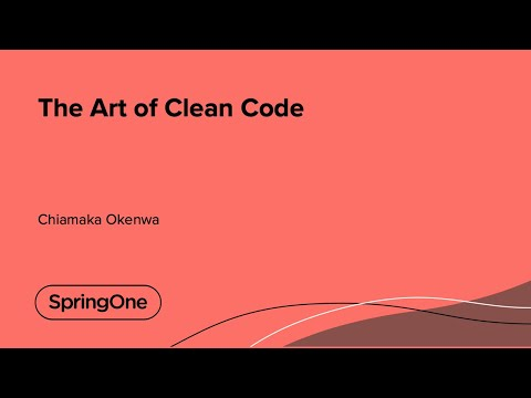 The Art of Clean Code
