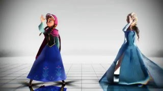 Mmd - frozen does the whip! (dance)