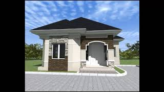 Building a Four Bedroom Bungalow in Nigeria (cost estimate) 008 WALLS FROM LINTEL TO ROOF LEVEL