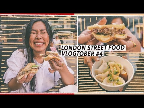 London Street Food: Old Spitalfields Market