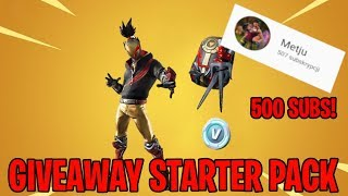 GIVEAWAY ON 500 SUB! TEAM FORTNITE EliTe RECRUITMENT RESULTS! II METJU